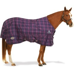 Centaur 1200D Plaid Turnout Sheet