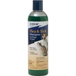 Zodiac Flea & Tick Shampoo for Dogs and Cats