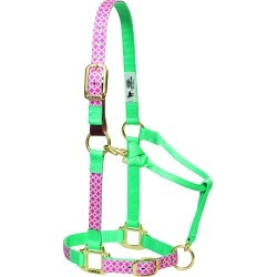 Weaver Breakaway Adjustable Chin and Throat Snap Halter - Quatrefoil found on Bargain Bro India from horseloverz.com for $27.88