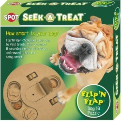 Seek-A-Treat Flip-N-Flap Dog IQ Puzzle