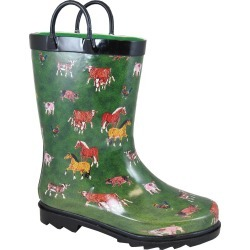 Smoky Mountain Toddler Round Up Rubber Boots found on Bargain Bro from horseloverz.com for USD $15.50