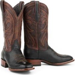 Stetson Mens Sheridan Square Toe Cowboy Boots