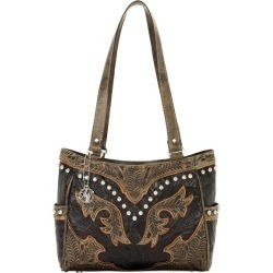 AMERICAN WEST Cowgirl Wings 3-Compartment Tote