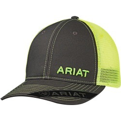 Ariat Mens Mesh Snapback Off Set Logo Ball Cap found on Bargain Bro Philippines from horseloverz.com for $18.90