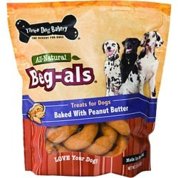Three Dog Bakery Beg-Als Treats For Dogs