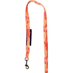 Hamilton Ribbon Overlay Single Thick Dog Lead - Pink Camo