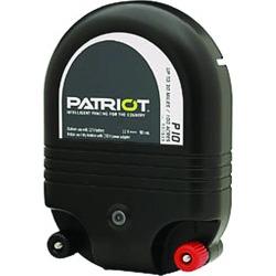 Patriot P10 Dual Purpose Fence Energizer - 12 V DC/110 V AC