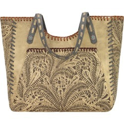 American West Mesilla Large Zip Top Tote