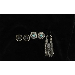 Blazin Roxx Trio Earrings Set found on Bargain Bro Philippines from horseloverz.com for $8.95
