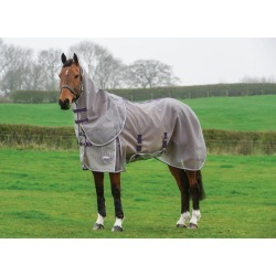 WeatherBeeta Comfitec Ripshield Plus Detach-A-Neck Fly Sheet found on Bargain Bro India from horseloverz.com for $129.95