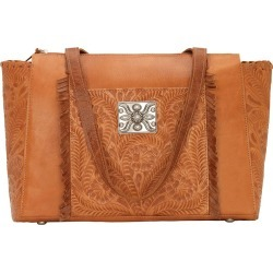 American West Annie's Secret Collection Zip Top Tote