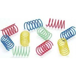 Colorful Springs Cat Toys