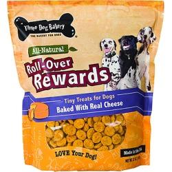 Three Dog Bakery Roll-Over Rewards Tiny Treats For Dogs