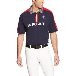Ariat Mens FEI New Team Polo - Black found on Bargain Bro India from horseloverz.com for $31.69
