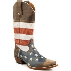 Roper Mens America Snip Toe Cowboy Boots found on Bargain Bro India from horseloverz.com for $208.99