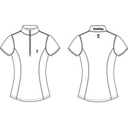 Tredstep Ladies Symphony Futura Sport Top Short Sleeve found on Bargain Bro India from horseloverz.com for $59.99
