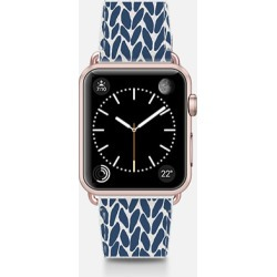 Casetify Apple Watch Band - Hand Knit Navy -2