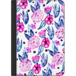 Casetify iPhone 7 Plus/7/6 Plus/6/5/5s/5c Case - Pink blue turquoise purple hand painted floral watercolor pattern by Girly Trend
