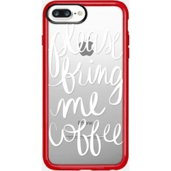 Casetify iPhone 7 Plus/7/6 Plus/6/5/5s/5c Case - Please Bring Me Coffee