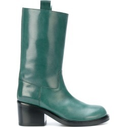A.F.Vandevorst - heeled boots - women - Calf Leather/Leather - 37.5, Green, Calf Leather/Leather