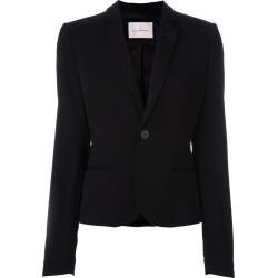 A.F.Vandevorst - notched lapel blazer - women - Spandex/Elastane/Viscose - 38, Black, Spandex/Elastane/Viscose