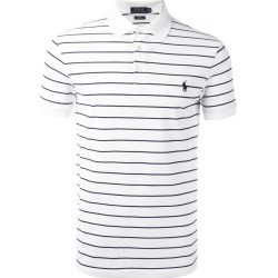 Polo Ralph Lauren - Striped Polo Shirt - Men - Cotton/spandex/elastane - Xl, White