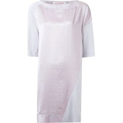 A.F.Vandevorst - 'Fairest' dress - women - Cotton/Polyester/Spandex/Elastane - S, Pink/Purple, Cotton/Polyester/Spandex/Elastane