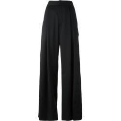 A.F.Vandevorst - high-waisted palazzo pants - women - Spandex/Elastane/Wool - 34, Black, Spandex/Elastane/Wool