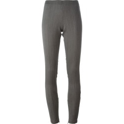 A.F.Vandevorst - 'Piano' trousers - women - Lyocell/Virgin Wool - 38, Grey, Lyocell/Virgin Wool