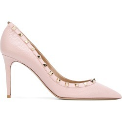 Valentino - Valentino Garavani Rockstud pumps - women - Leather/metal - 39, Pink/Purple, Leather/metal