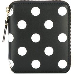 Comme Des Garçons Wallet polka dot wallet - Black found on MODAPINS from FARFETCH.COM Australia for USD $207.26