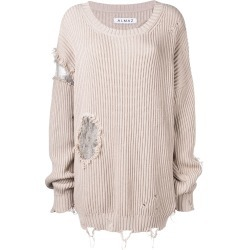 Almaz distressed jumper - Neutrals found on MODAPINS from FarFetch.com- UK for USD $535.66