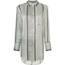 Asceno striped shirt - Black found on MODAPINS from FarFetch.com- UK for USD $147.58