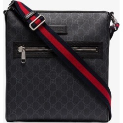 Gucci Mens Black Gg Supreme Messenger Bag found on MODAPINS from Browns Fashion for USD $889.25