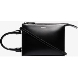 Jil Sander Womens Black Tootie Leather Mini Bag found on Bargain Bro UK from Browns Fashion