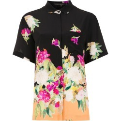 Andrea Marques printed silk shirt - Black found on MODAPINS from FarFetch.com - US for USD $1229.00