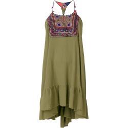 Anjuna embroidered bib dress - Green found on MODAPINS from FARFETCH.COM Australia for USD $297.59