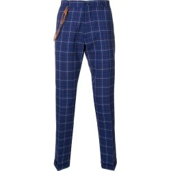 Berwich checked slim-fit trousers - Blue found on MODAPINS from FARFETCH.COM Australia for USD $250.70