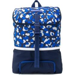 Stella McCartney Kids camouflage print backpack - Blue found on Bargain Bro UK from FarFetch.com- UK