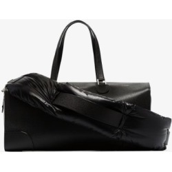 Moncler Womens Genius X Valextra Black Leather Luggage Bag found on Bargain Bro UK from Browns Fashion