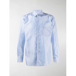 Comme Des Garçons Shirt stripe-print fitted shirt found on MODAPINS from MODES GLOBAL for USD $343.04