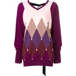 Ballantyne diamond knit sweater - Pink found on MODAPINS from FarFetch.com - US for USD $732.00