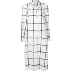 Ballantyne grid print shirt dress - White found on MODAPINS from FarFetch.com- UK for USD $743.23