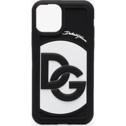 Dolce & Gabbana Mens Black Iphone 11 Pro Dg Logo Case found on Bargain Bro UK from Browns Fashion