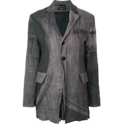 Barbara Bologna wrinkled blazer - Grey found on MODAPINS from FarFetch.com- UK for USD $850.95