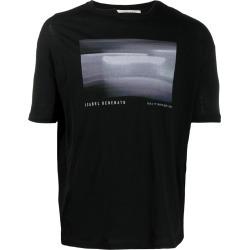 Isabel Benenato logo printed T-shirt - Black found on Bargain Bro India from FARFETCH.COM Australia for $123.90