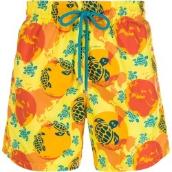 Vilebrequin Moorea printed swim shorts - Yellow found on Bargain Bro UK from FarFetch.com- UK