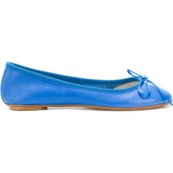 Anna Baiguera bow ballerina shoes - Blue found on MODAPINS from FARFETCH.COM Australia for USD $120.64