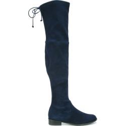 Stuart Weitzman 'Lowland' boots - Blue found on Bargain Bro UK from FarFetch.com- UK