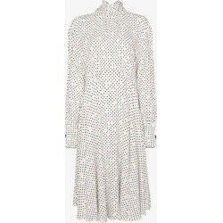 Christopher Kane Womens White Polka Dot Tie Neck Dress found on MODAPINS from Browns Fashion for USD $1950.27